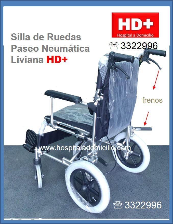 Hospital a domicilio - Silla de paseo 3 ruedas ...