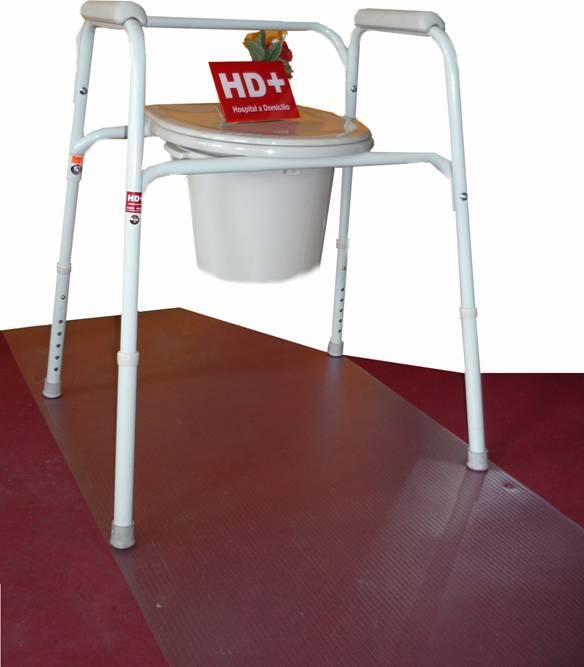 Baño General En Cama:de ducha que permite el aseo de la zona genital del mismo paciente