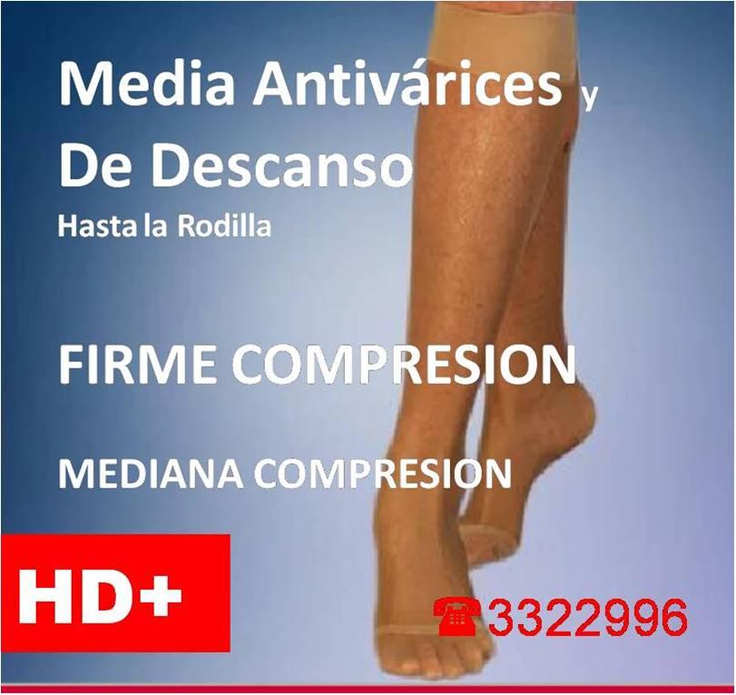 ac8ad5e8e Medias Antivarices, de Descanso DAMA (mediana y firme compresión)